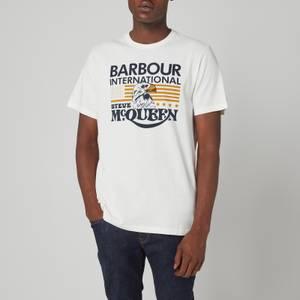 Barbour X Steve McQueen Men's Eagle T-Shirt - Whisper White