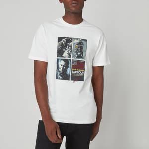 Barbour X Steve McQueen Men's Multi Steve T-Shirt - Whisper White