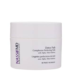 NassifMD Dermaceuticals Original Complexion Perfecting Exfoliating and Detoxification Treatment Pads 60ct