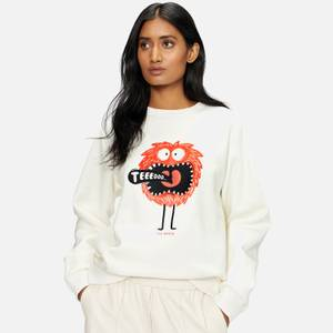 Ted Baker Women's Florayn Ted Graphic Sweat - White