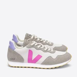 Veja Women's SDU Running Style Trainers - Light Grey/Ultraviolet