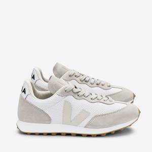 Veja Women's Rio Branco Running Style Trainers - White/Pierre/Natural