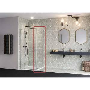 Oyster 800mm Side Panel for Pivot Door