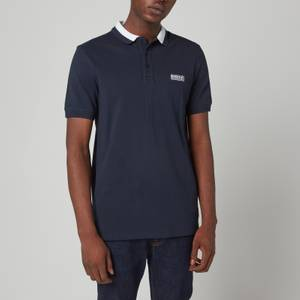 Barbour International Men's Event Bold Tipped Polo Shirt - Navy