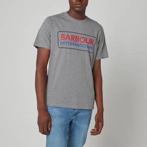 Barbour International Men's Event Logo T-Shirt - Grey