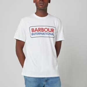 Barbour International Men's Event Logo T-Shirt - White