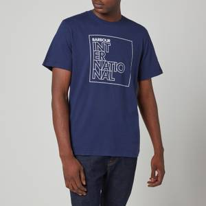 Barbour International Men's Outline T-Shirt - Regal Blue
