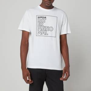 Barbour International Men's Outline T-Shirt - White