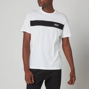 Barbour International Men's Accelerator Panel T-Shirt - White