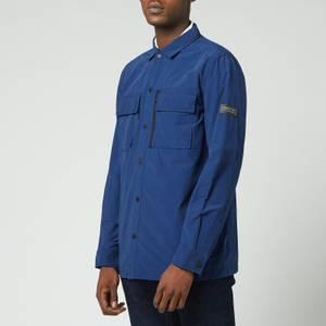 Barbour International Men's Slipstream Tech Overshirt - Regal Blue