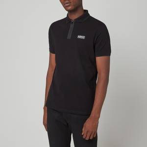 Barbour International Men's Transmission Zip Polo Shirt - Black
