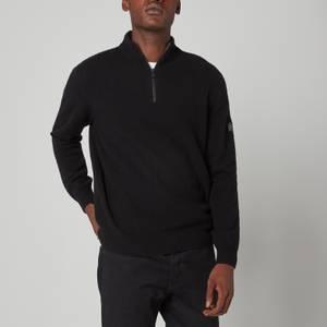 Barbour International Men's Transmission Half Zip Jumper - Black