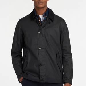 Barbour Men's Commuter Wax Jacket - Navy