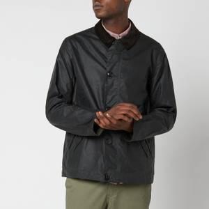 Barbour Men's Commuter Wax Jacket - Sage
