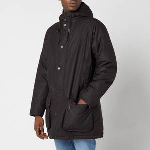 Barbour Men's Hooded Beaufort Wax Jacket - Rustic