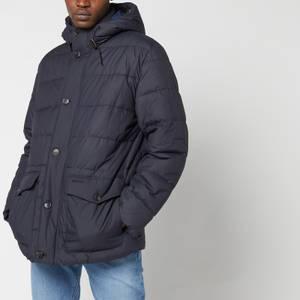 Barbour Men's Mobury Quilt Jacket - Navy