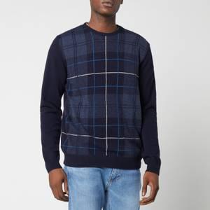 Barbour Men's Coldwater Crewneck Sweatshirt - Midnight