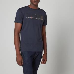 Barbour Men's Wallace T-Shirt - Navy