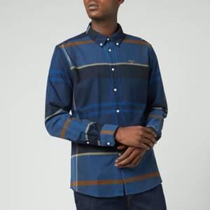 Barbour Men's Iceloch Tailored Shirt - Midnight Tartan