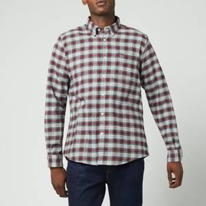 Barbour Men's Alderton Tailored Shirt - Red
