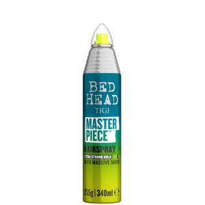TIGI Bed Head Masterpiece Shiny Hairspray for Strong Hold and Shine 340ml