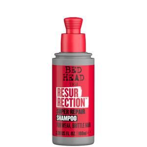 TIGI Bed Head Resurrection Repair Shampoo for Damaged Hair Travel Size 100ml