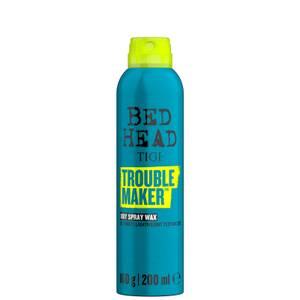 TIGI Bed Head Trouble Maker Dry Spray Wax Texture Finishing Spray 200ml