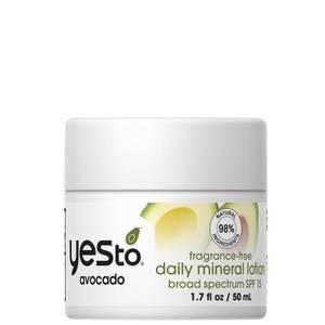 yes to Avocado Fragrance Free Daily Moisturiser 50ml