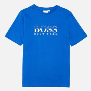 Hugo Boss Kids Short Sleeve T-Shirt - Blue
