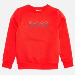 Hugo Boss Kids' Sweatshirt - Red