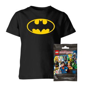 LEGO DC: Minifigures & DC T-Shirt