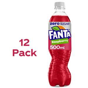 Fanta Zero Raspberry 12 x 500ml