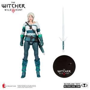 McFarlane The Witcher 3: Wild Hunt 7 Inch Action Figure - Ciri (Elder Blood)
