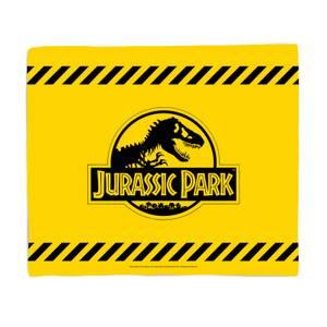 Jurassic Park Tape Fleece Blanket