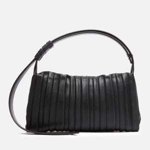 Simon Miller Women's Pleated Vegan Mini Puffin Bag - Black