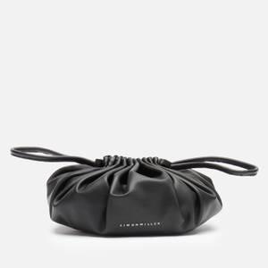 Simon Miller Women's Vegan Scrunch Bag - Black