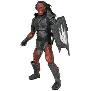 Diamond Select Lord Of The Rings Deluxe Action Figure - Uruk-Hai Orc