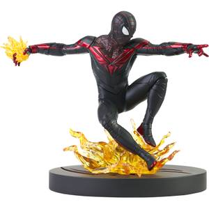 Diamond Select Marvel Gamerverse Gallery Spider-Man (PS5) PVC Figure - Miles Morales