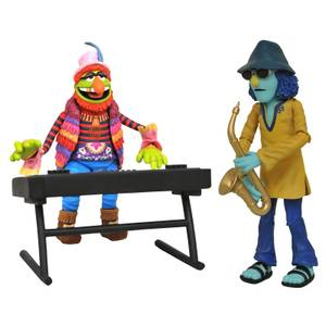 Diamond Select The Muppets Best Of Deluxe Action Figure - Dr. Teeth & Zoot