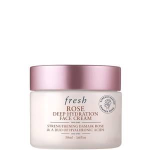 Fresh Rose Deep Hydration Face Cream (Various Sizes)