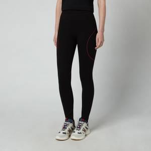 KARL LAGERFELD Women's Punto Logo Leggings - Black