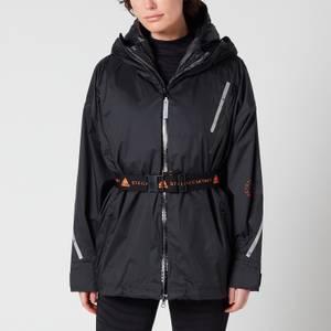 adidas by Stella McCartney Women's 2-in-1 Padded Running Coat - Black