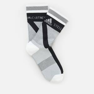 adidas by Stella McCartney Women's Asmc Crew Socks - White/Black/White