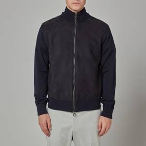 Salvatore Ferragamo Men's Four Season Jacket - Navy