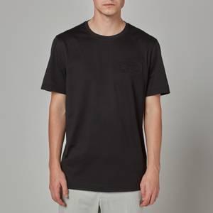 Salvatore Ferragamo Men's Gancio Logo T-Shirt - Black