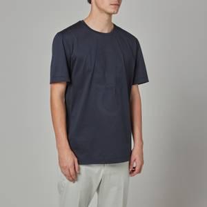 Salvatore Ferragamo Men's Gancio Logo T-Shirt - Navy