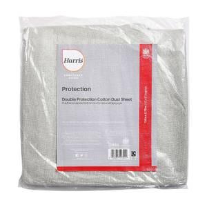 Harris Seriously Good Cotton Dust Sheet 3.6 x 2.75m