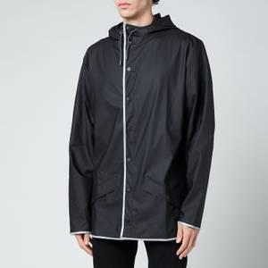 Rains Jacket - Black Reflective