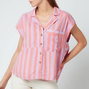 Free People Women's Play It Cool Stripe Top - Sorbet Combo