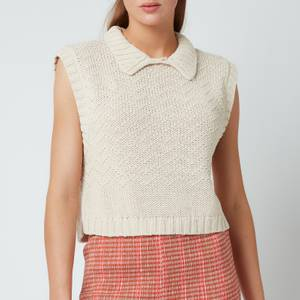 Free People Women's Winding Road Sweater Vest - Natural